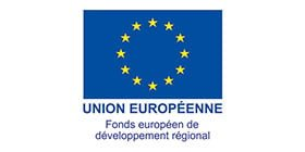 Logo European Regional Development Fund Financial Partner of datexim