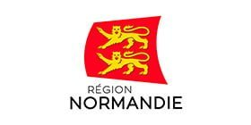 Logo Normandy Region partner of Datexim